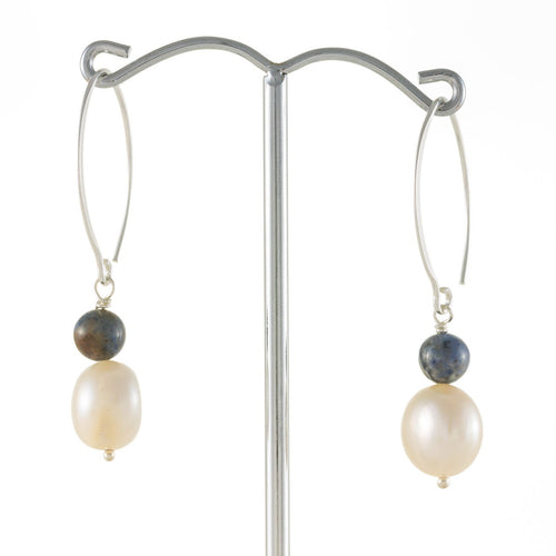 Hook Pearl Earrings | Stones That Rock