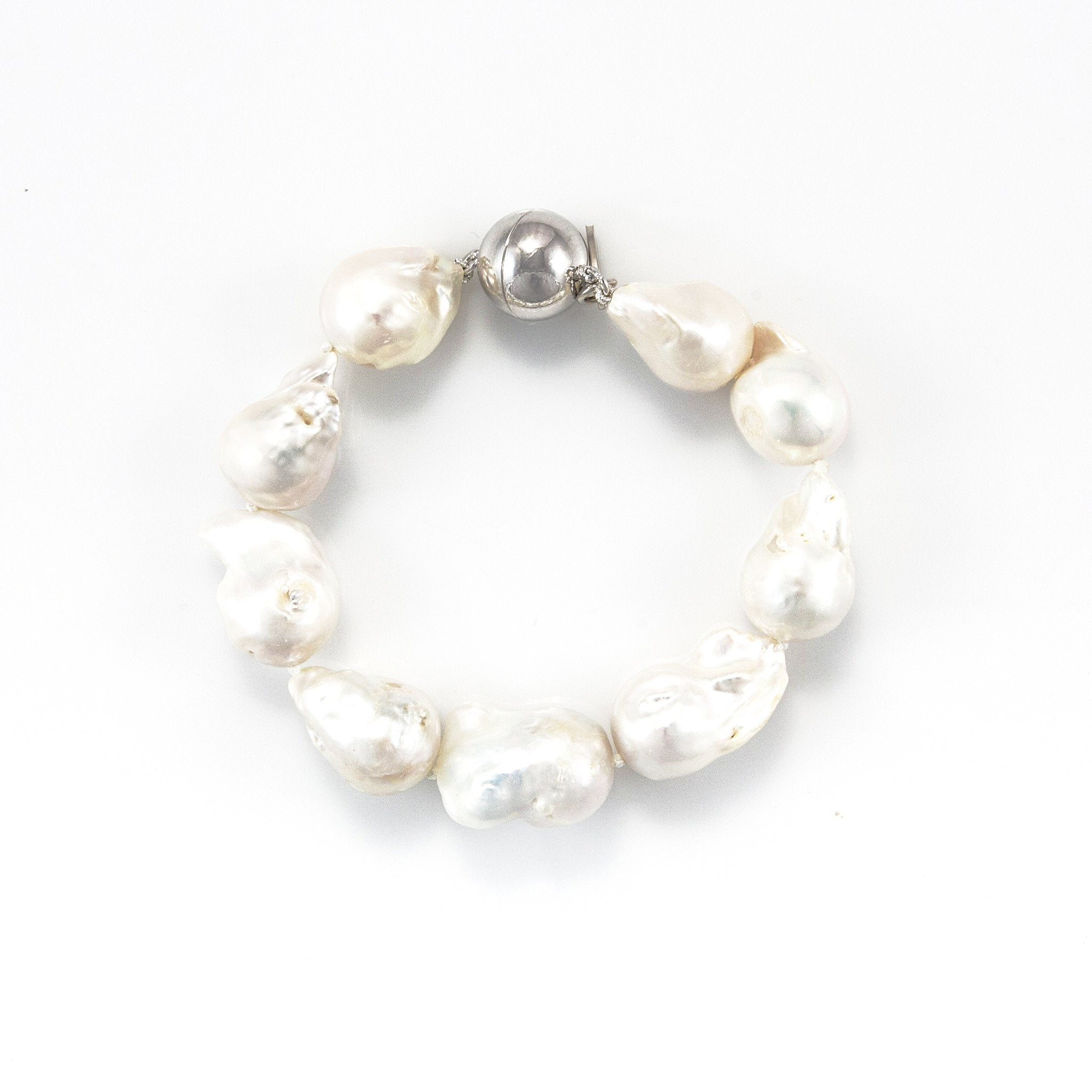 Bella Baroque Pearl Bracelet | Stones That Rock