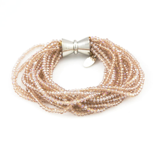 Gabi Multi Strand Crystal Bracelet | Stones That Rock