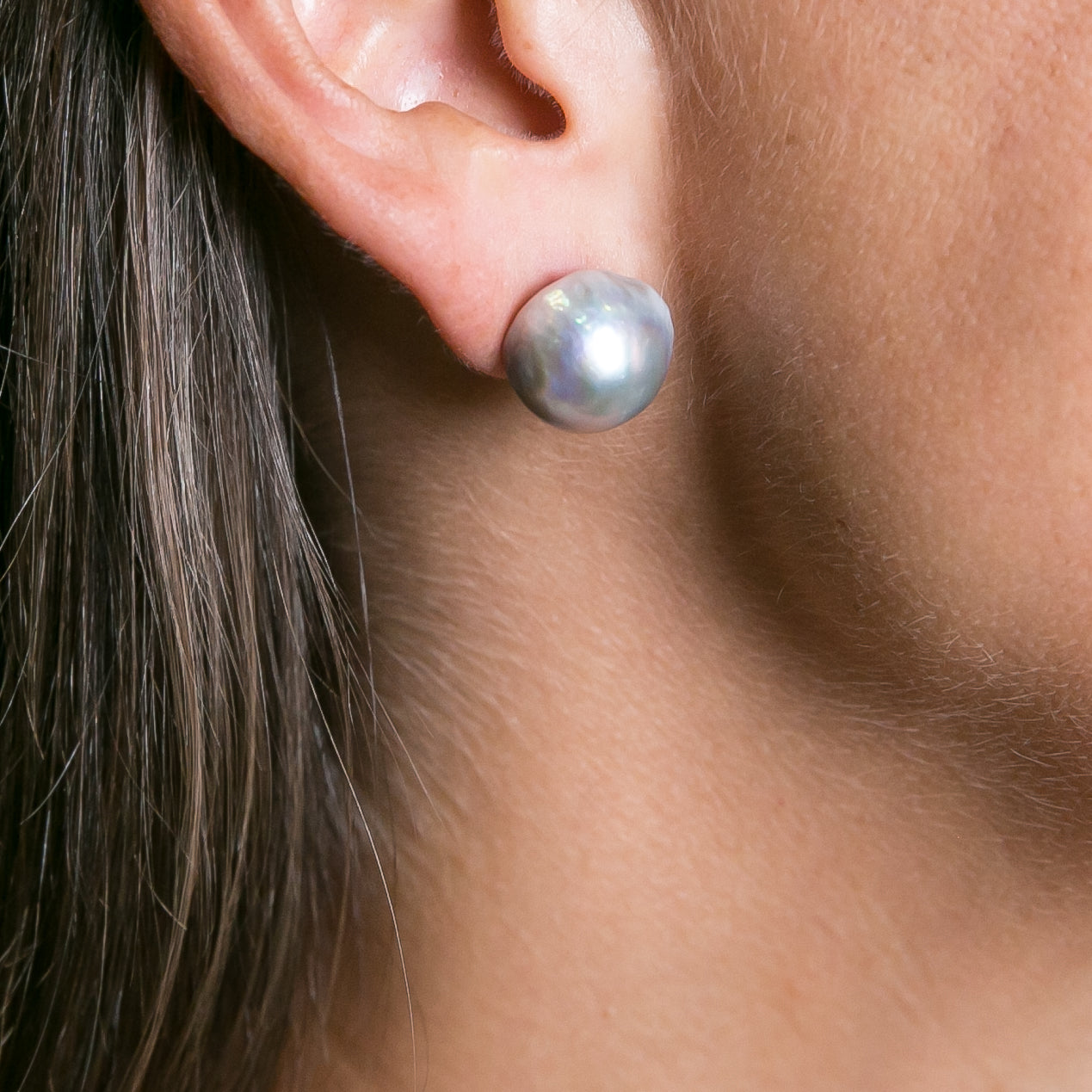 Baroque Freshwater Pearl Studs