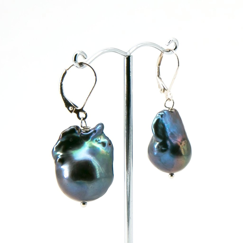 Baroque Freshwater Pearl Drop Earrings Large | Stones that Rock