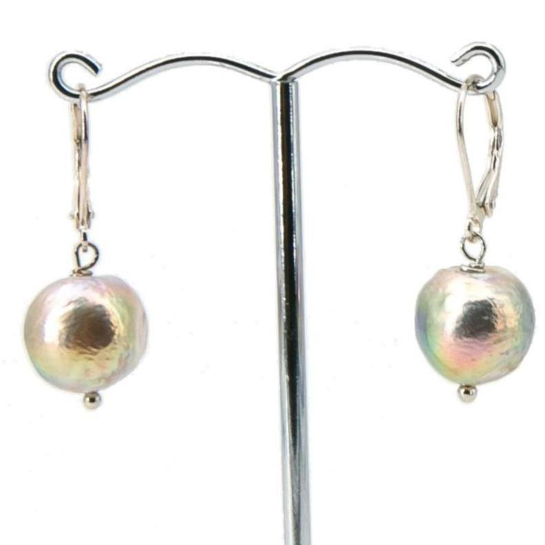 Baroque Freshwater Pearl Drop Earrings