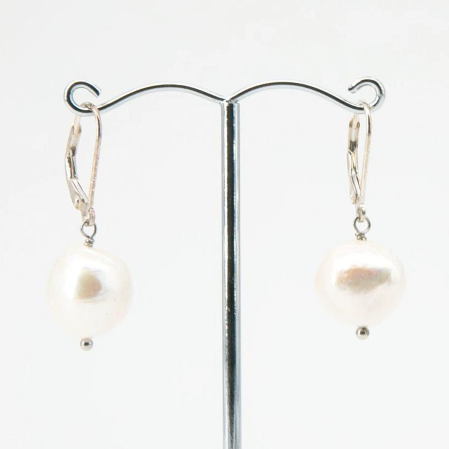 Baroque Freshwater Pearl Drop Earrings | Stones that Rock