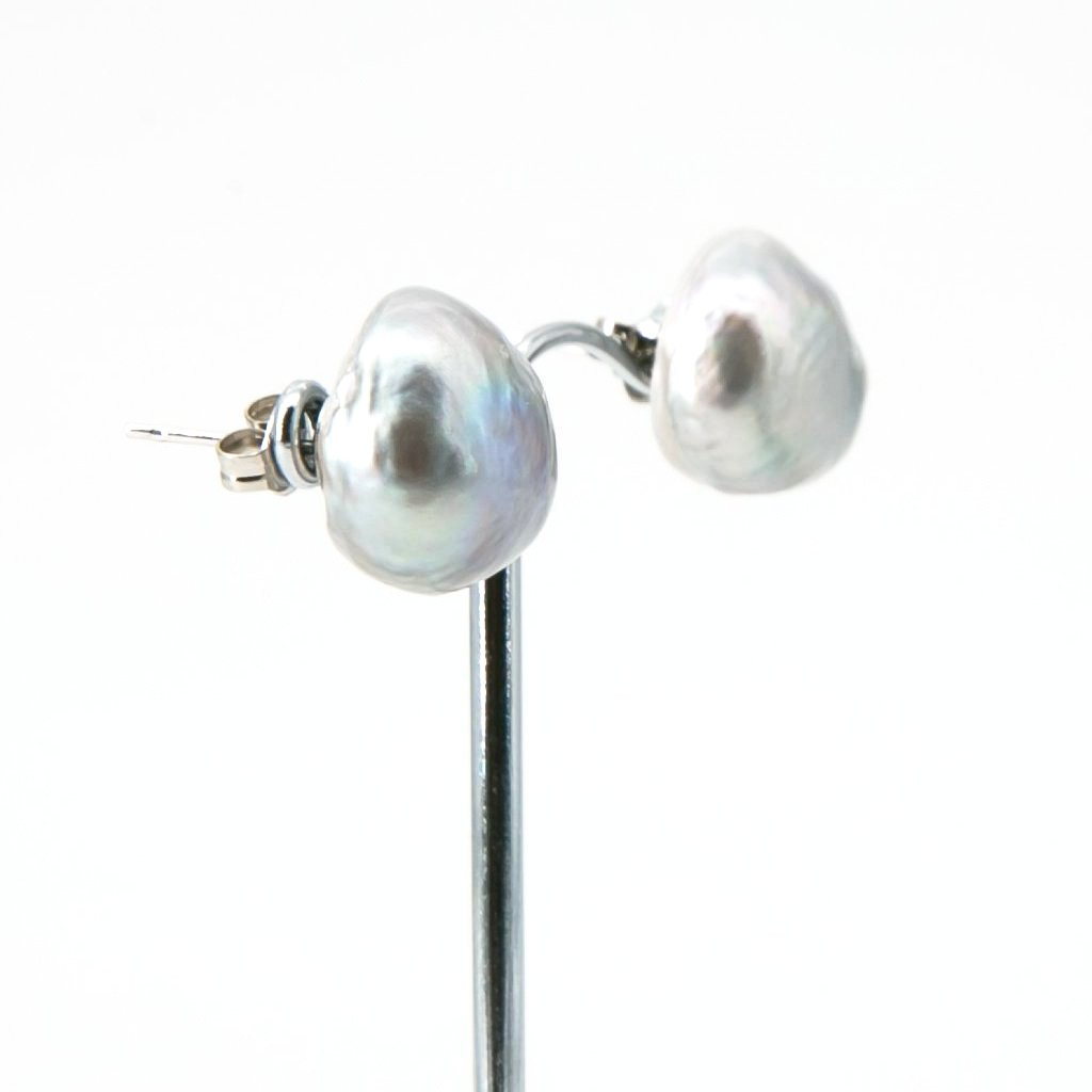Baroque Freshwater Pearl Studs | Stones that Rock