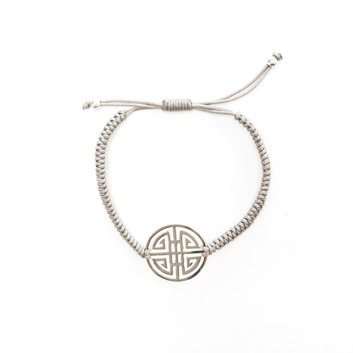 Ina Double Happiness Charm Plaited Bracelet | Stones that Rock