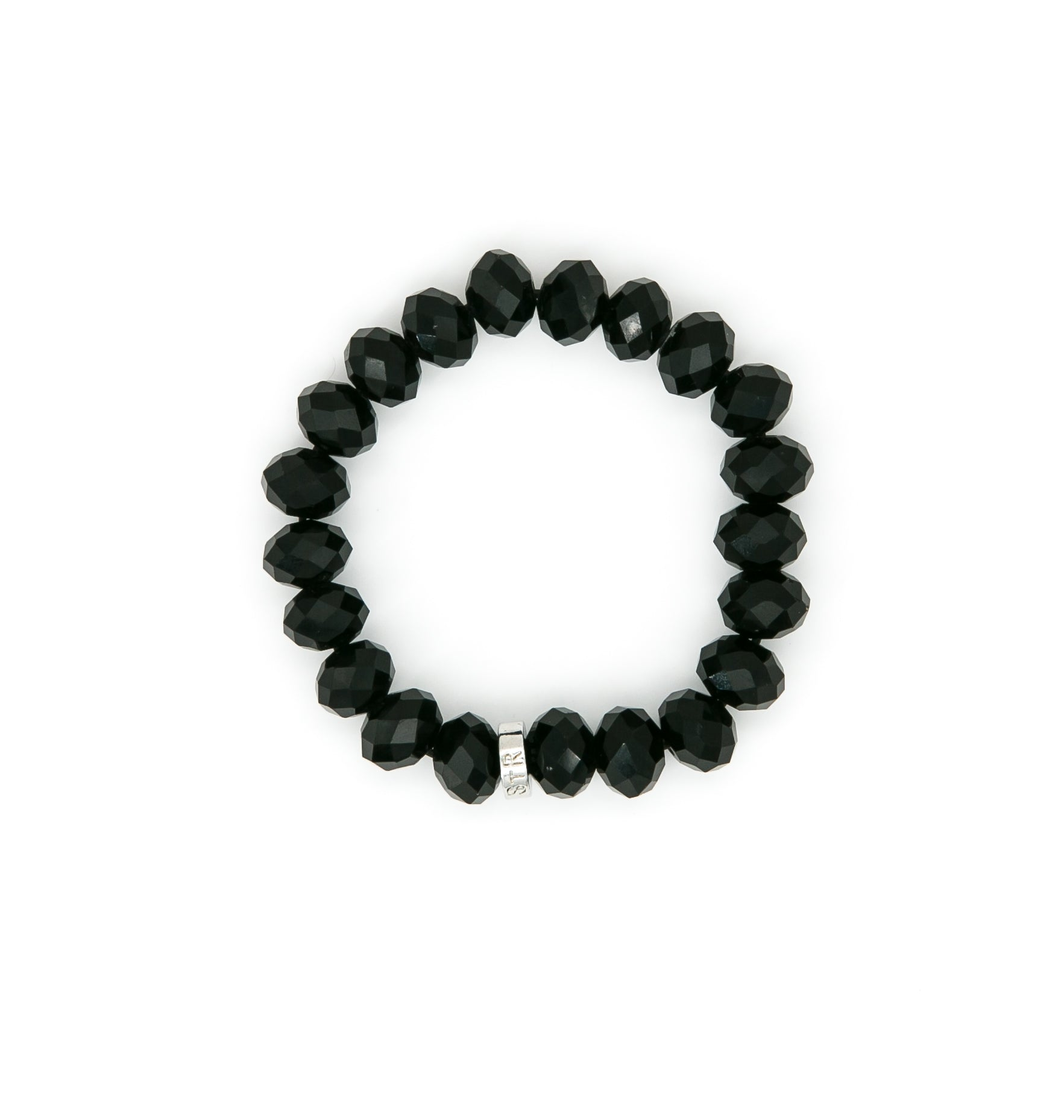 Chinese Crystal 12mm Bead Bracelet | Stones that Rock