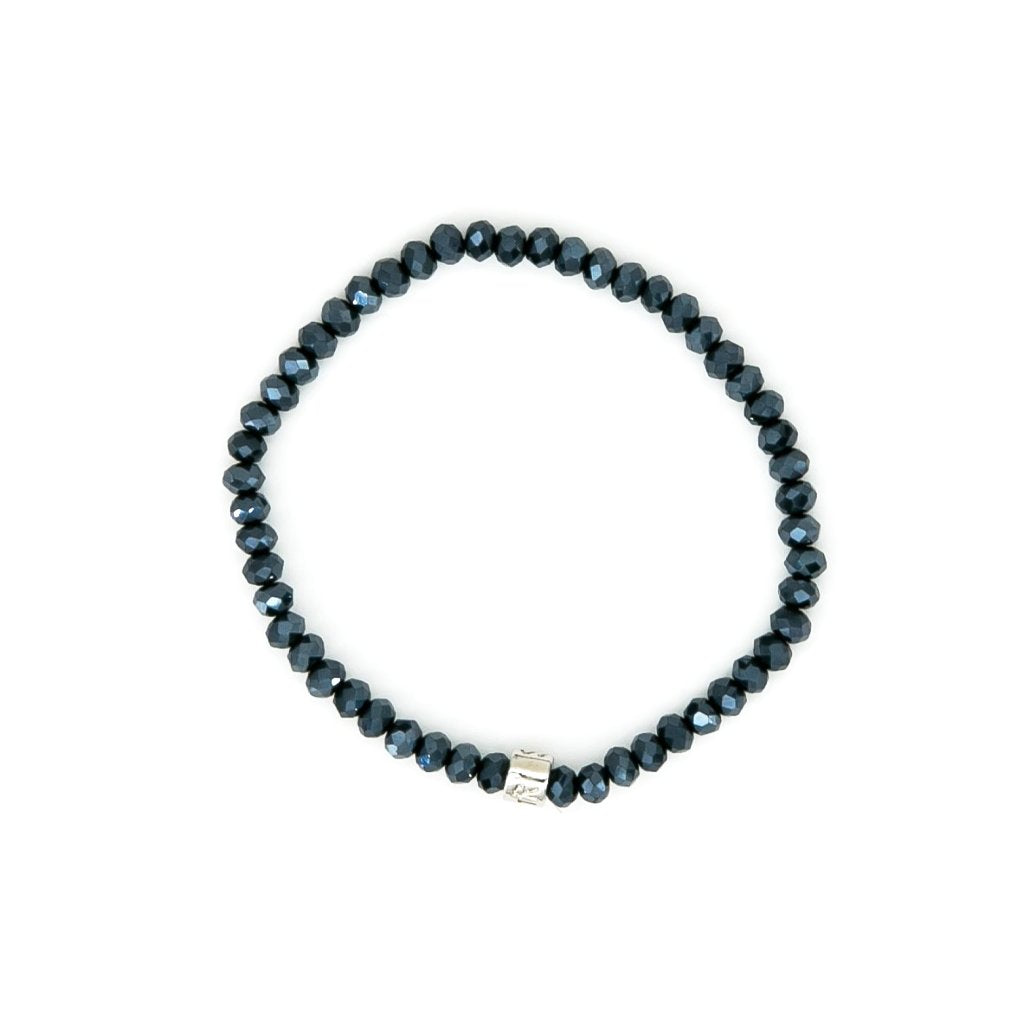 Chinese Crystal 4mm Bead Bracelet | Stones that Rock