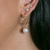 Pebbles 3mm Pearl Stud Earrings | Stones that Rock