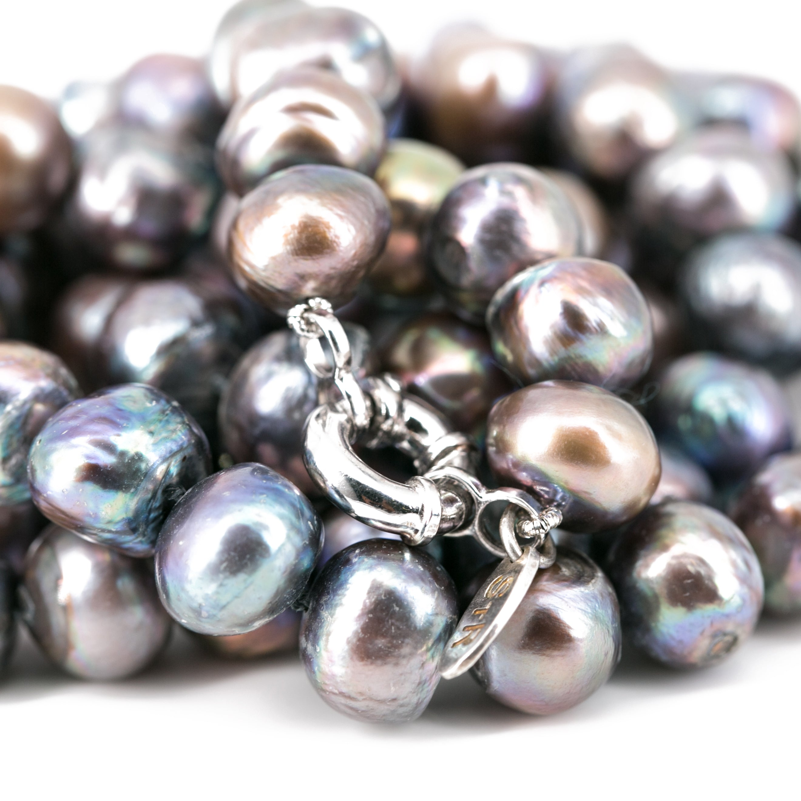 Cynthia Long Pearl Necklace | Stones that Rock