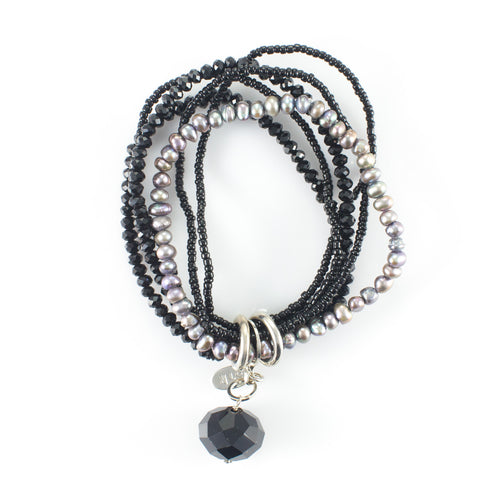 Fay Crystal & Pearl Bracelet | Stones that Rock