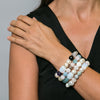 Dusty Freshwater Pearl & Stone Bracelet | Stones that Rock