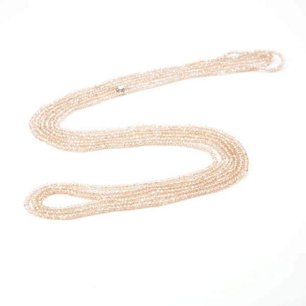 Kimi Crystal Loop Necklace | Stones that Rock