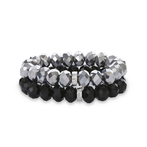 Lizzy Two Piece Crystal Bracelet Set | Stones that Rock