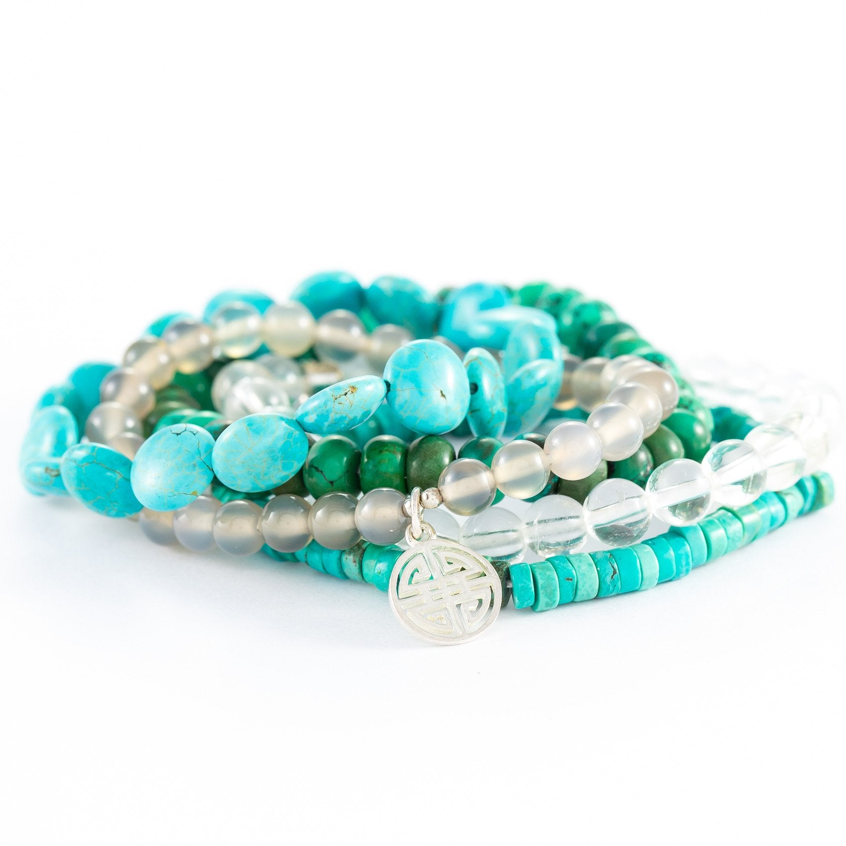 Maddie Turquoise Stone Bracelet Stack | Stones that Rock