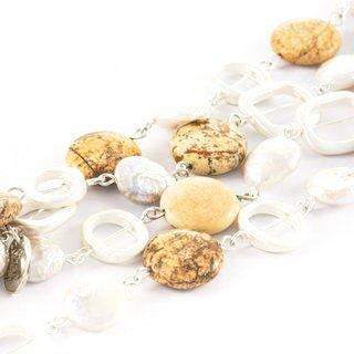 Jenny Jasper & Pearl Long Necklace | Stones that Rock