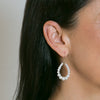 Polly Graduated Pearl Teardrop Earrings | Stones That Rock
