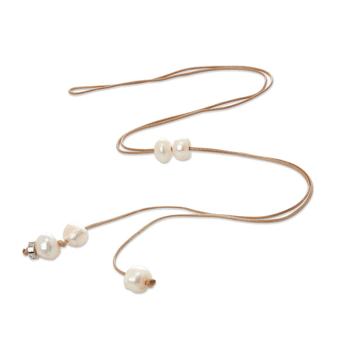 Cee Cee Tan Long Pearl Necklace | Stones that Rock