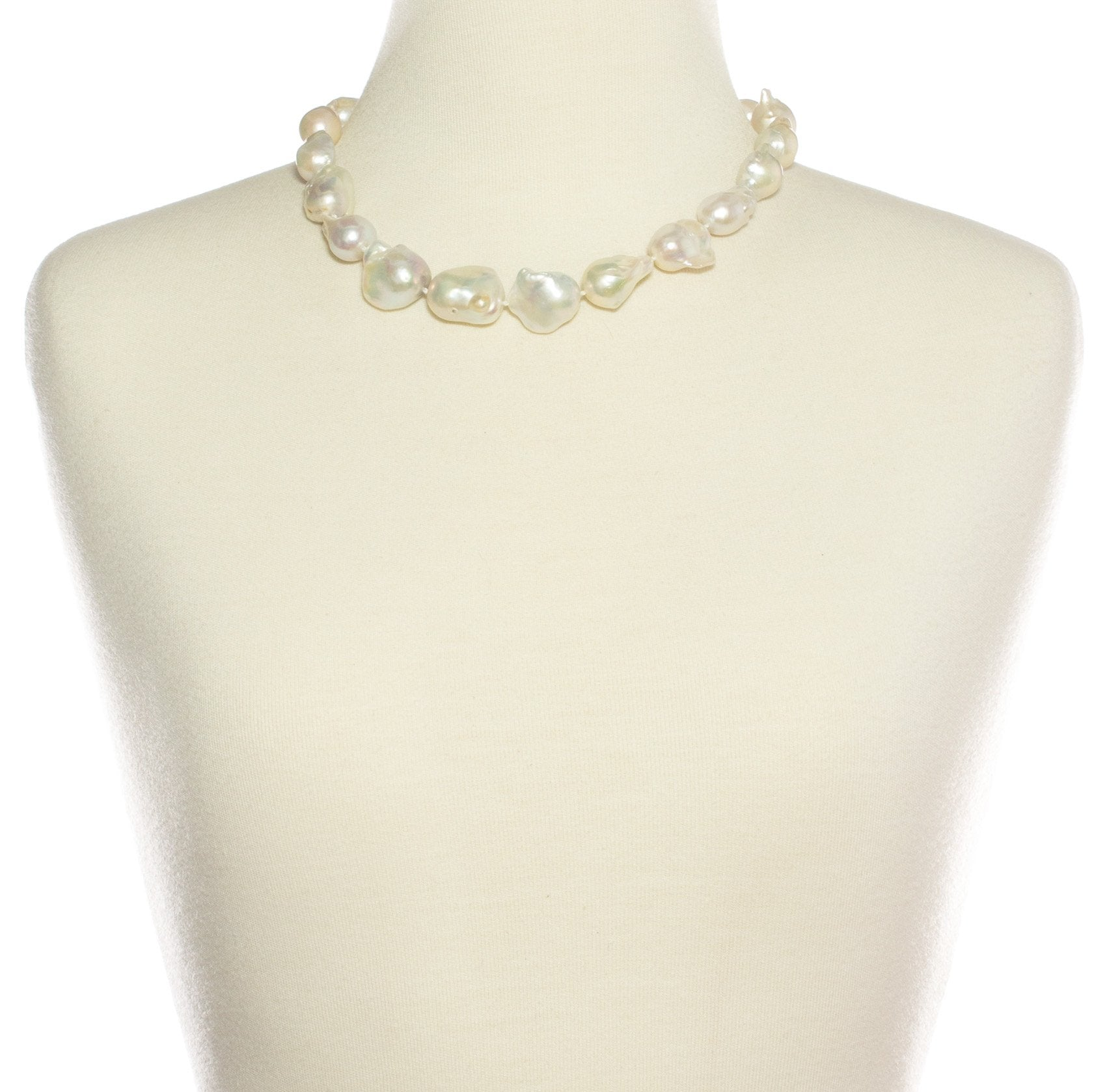 Judy Baroque Pearl Short Necklace | Stones that Rock