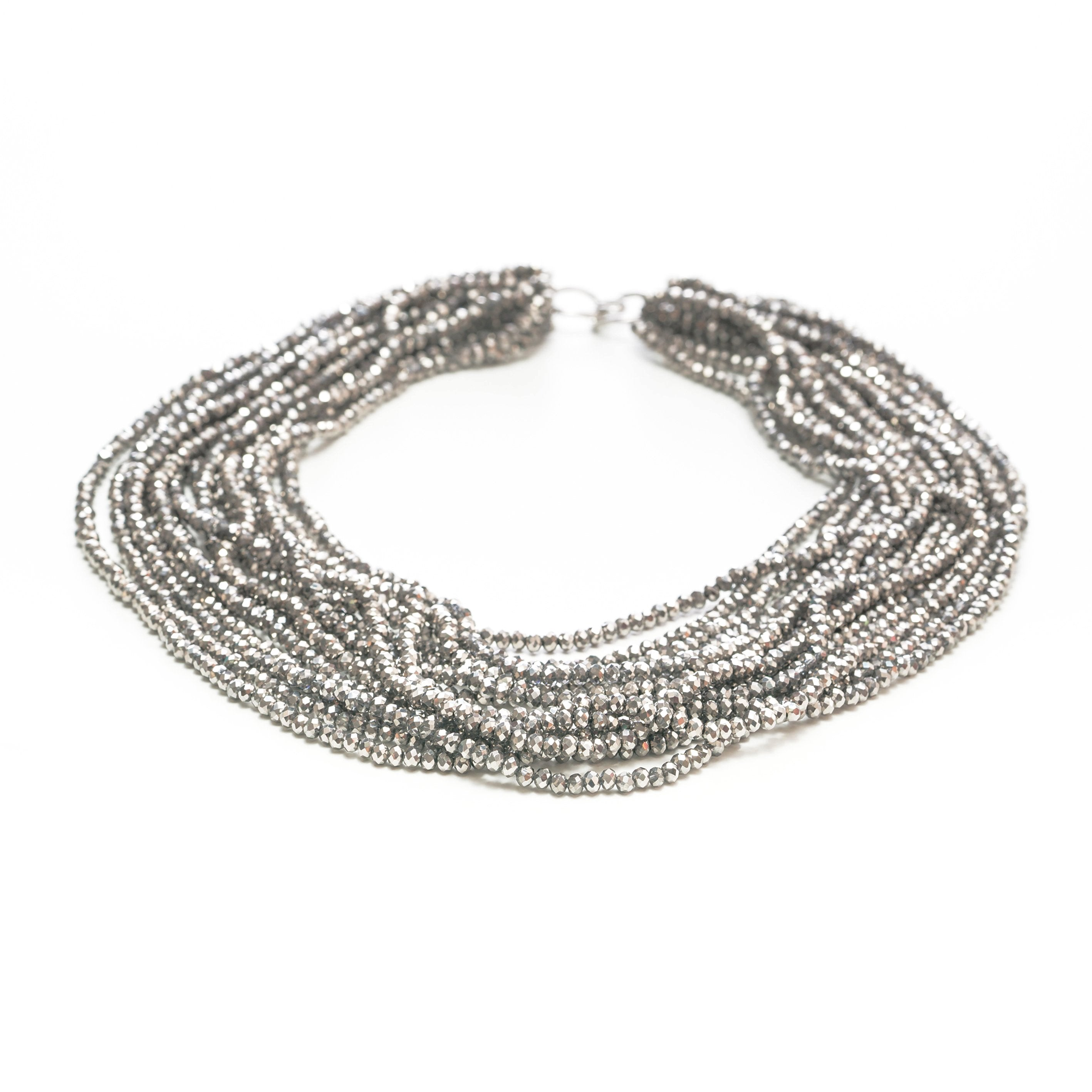Melody Multi Strand Crystal Necklace | Stones that Rock