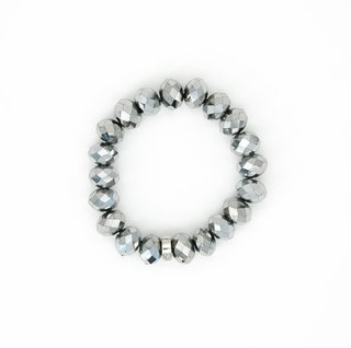 Chinese Crystal 10mm Bead Bracelet | Stones that Rock