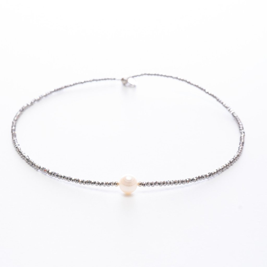 Patty Pearl Crystal Choker | Stones that Rock