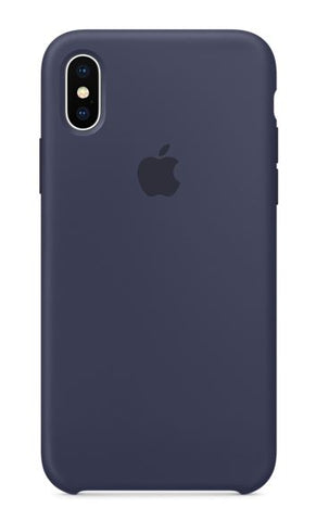 "Dėklas ORG ""Silicone case"" iPhone XS midnight blue"