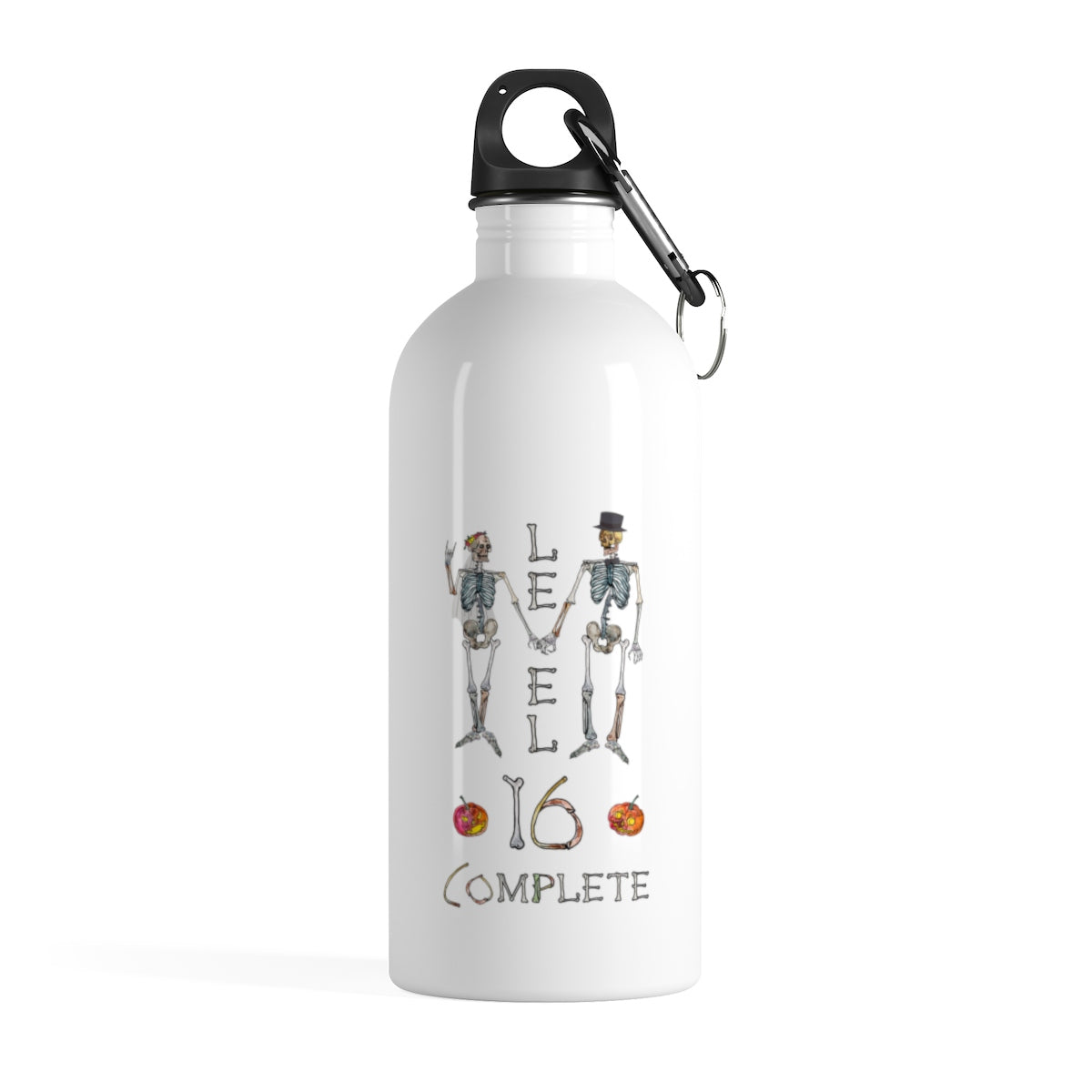 Wedding Anniversary Gift - Stainless Steel Water Bottle - Level 16 Complete