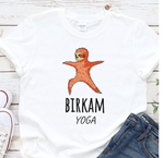 Birkam yoga T-Shirt with a Funny Panda