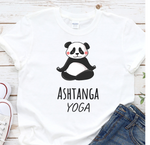 Ashtanga yoga T-Shirt with a Funny Panda