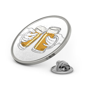 Enamel pin for beer lovers