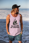 Beware of Sharks t-shirt design for printing plus regular white tee / PNG hi-resolution tee shirt design