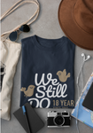 Married in 2002 Gift T-Shirt for Parents, 18 Year Anniversary