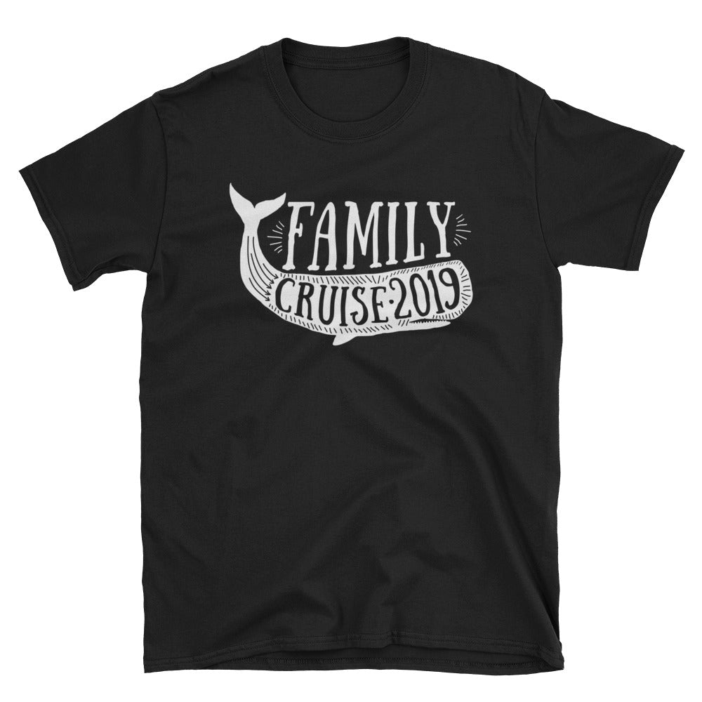 Family Cruise 2019 Tees / Whale / '19 Sea Cruise / Ocean Cruise Shirts / Family Shirts / Adult