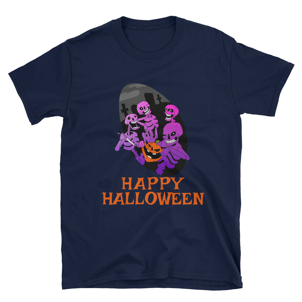 Skeleton Shirt - Halloween Skeleton Unisex Shirt
