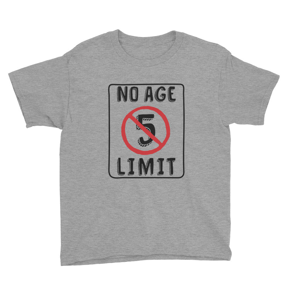 No Age Limit - 5th Birthday T-Shirt For Boys