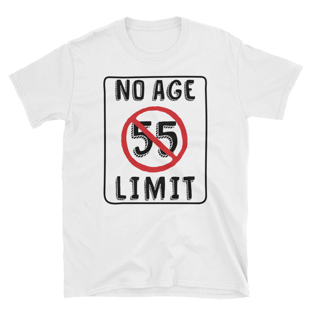 No Age Limit - 55th Birthday Unisex Gift T-Shirt