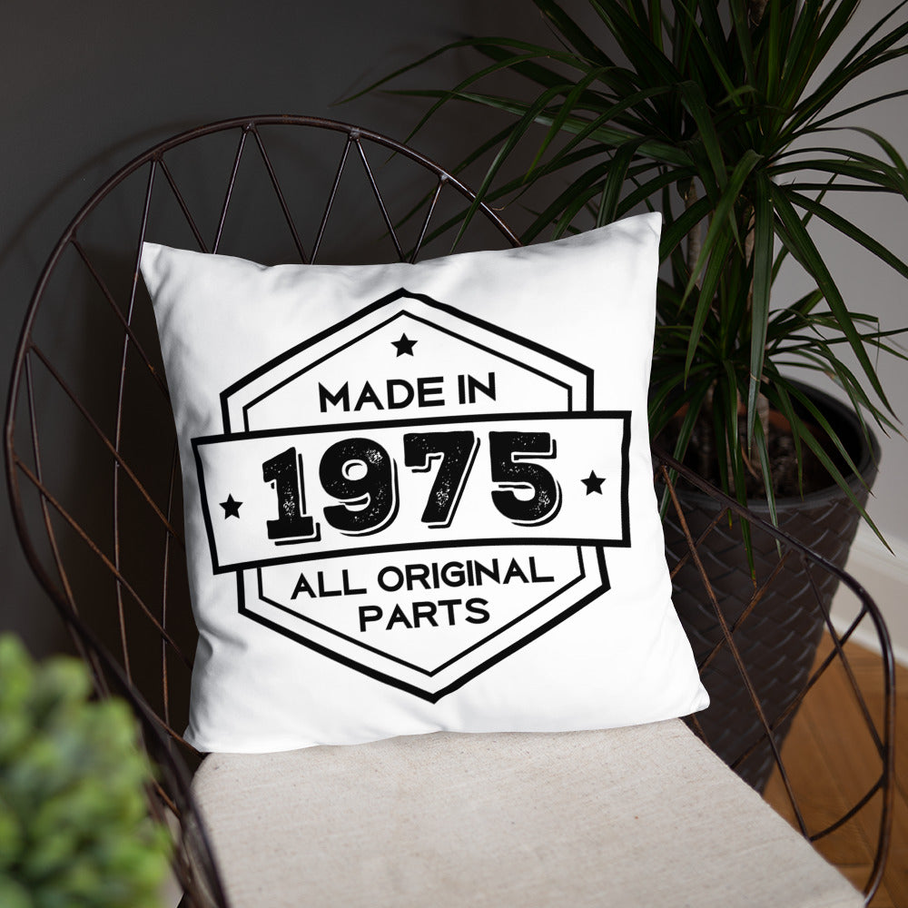 Made in 1975 - 43rd Birthday Adorable Pillow Gift