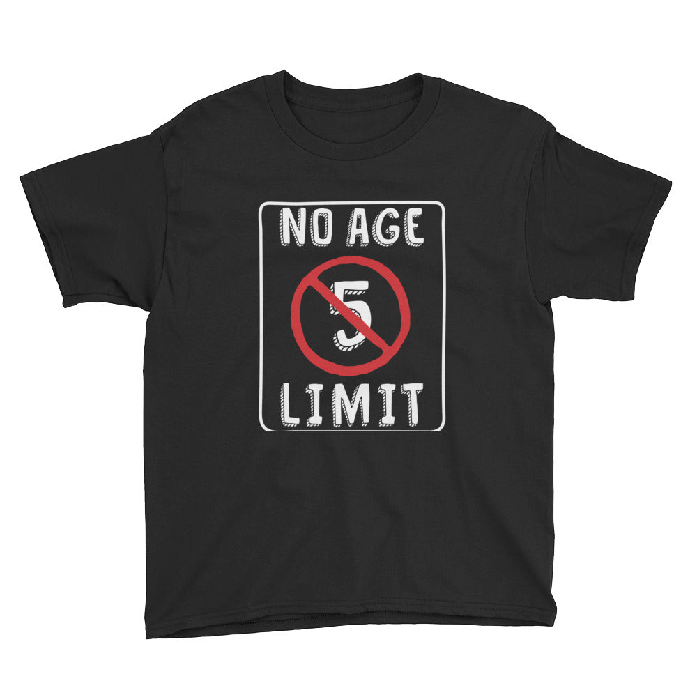 No Age Limit - 5th Birthday Short Sleeve T-Shirt
