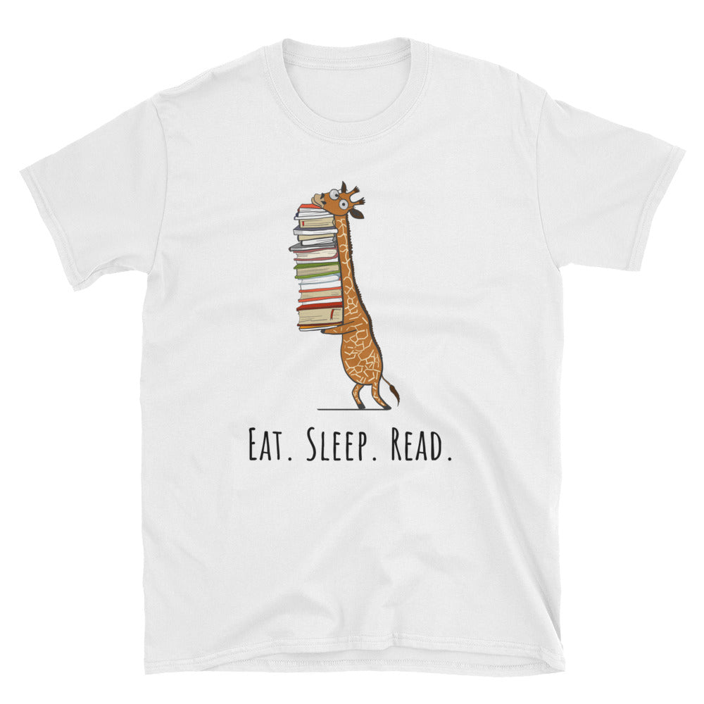 Eat Sleep Read - Bookish Person Gift Tee - Gift Ideas - Familymily.com