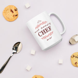 Most Amazing Chef Ever - Master Cook Mug Gift