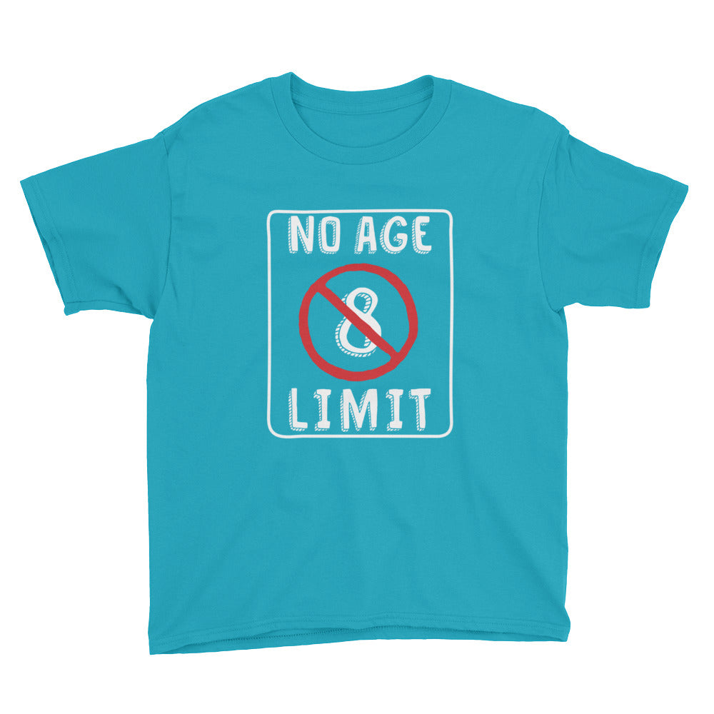 No Age Limit - 8th Birthday Shirt For Boys