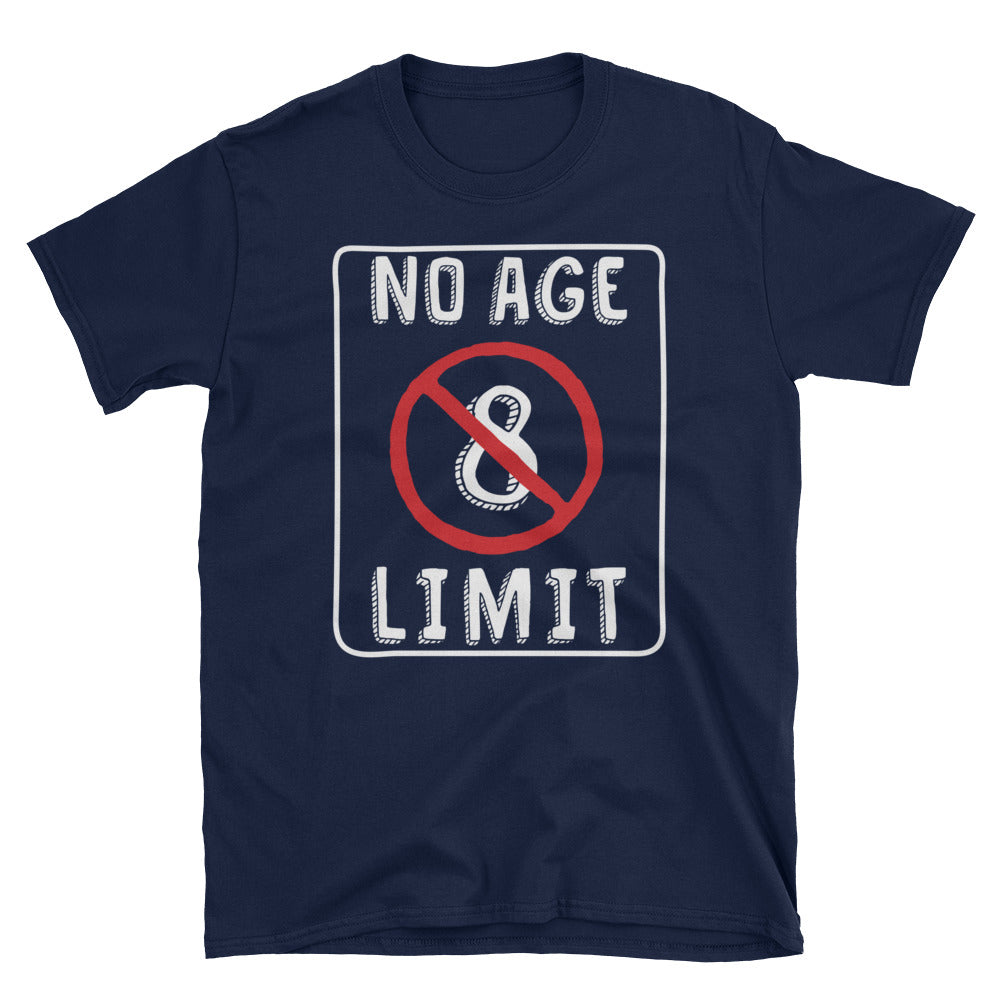 No Age Limit - 8th Birthday Unisex Gift T-Shirt