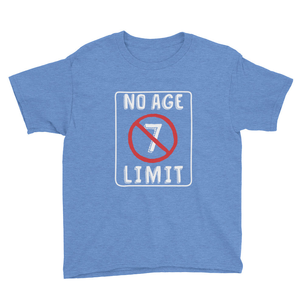 No Age Limit - 7th Birthday Shirt For Boys
