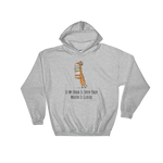 If My Book Is Open Your Mouth Is Closed - Bookworm Hooded Sweatshirt Gift