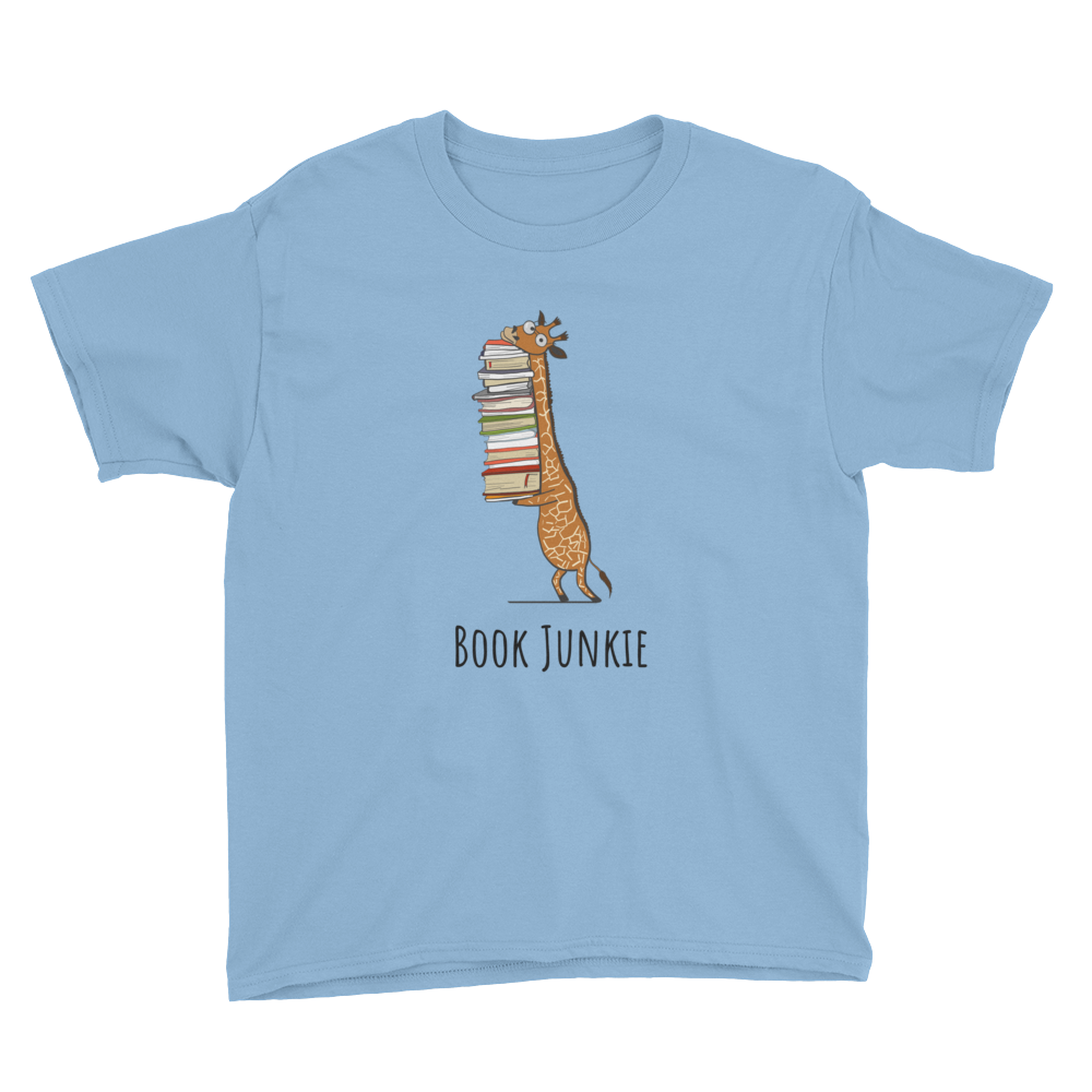 BOOK JUNKIE - Bookworm Apparel Gift For Boys - Gift Ideas - Familymily.com