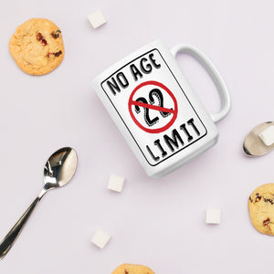 No Age Limit - 22nd Birthday Gift Mug