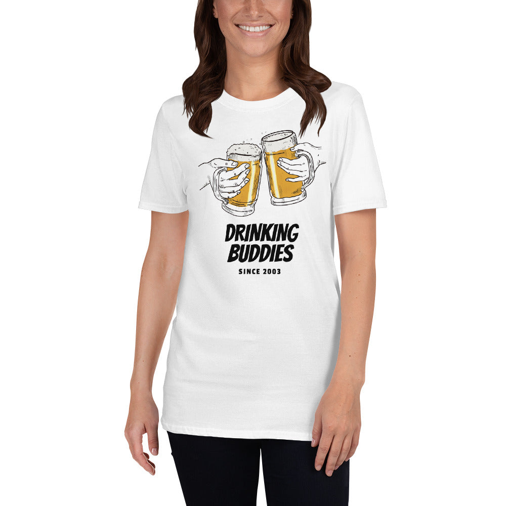 17th wedding anniversary t-shirt  white