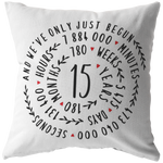 Anniversary Gifts for Her - Customized Pillow