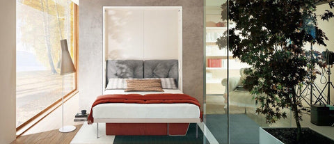 Vertical wall beds