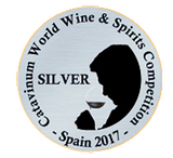 "Médaille Argent au ""Catavinum World Wine & Spirits Competition"""